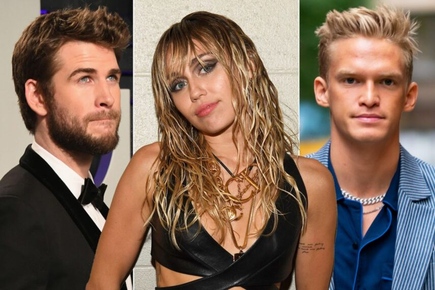 Miley Cyrus Turns Heads At The MTV EMAs In Plunging