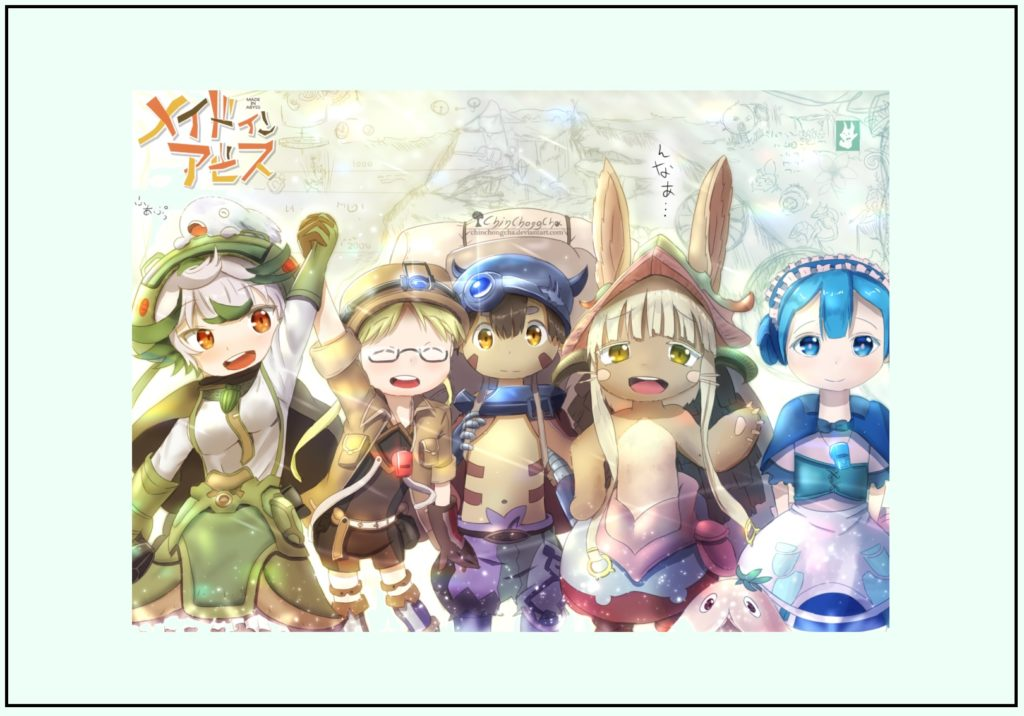 Possible Poster of Made in Abyss Season 2